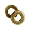 Metal Washer 6X1.2x2.8mm Antique Brass
